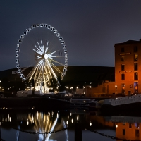 Noria en Albert Dock
